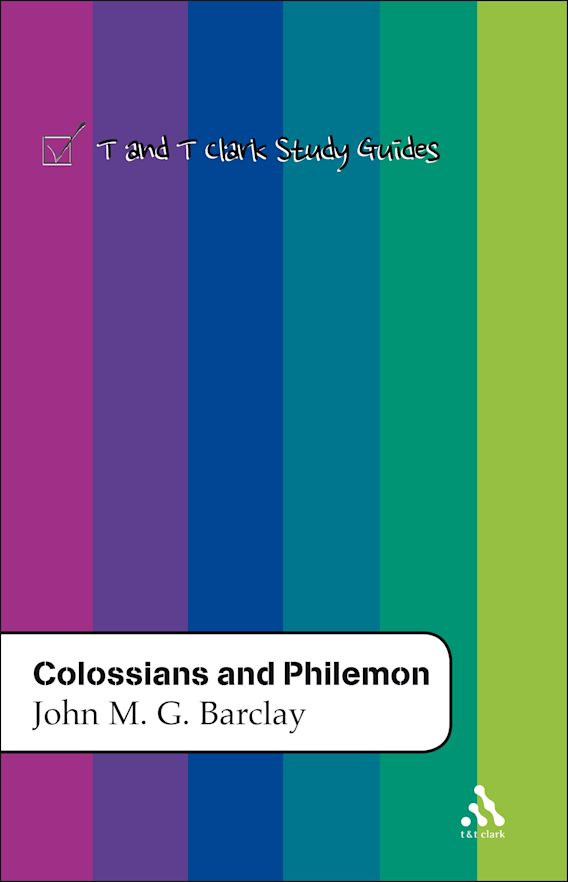 Colossians and Philemon cover