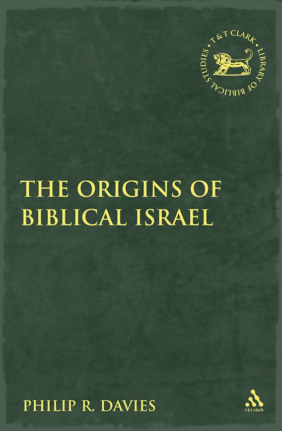 The Origins of Biblical Israel cover