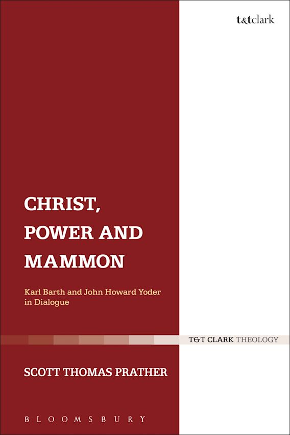 Christ, Power and Mammon cover