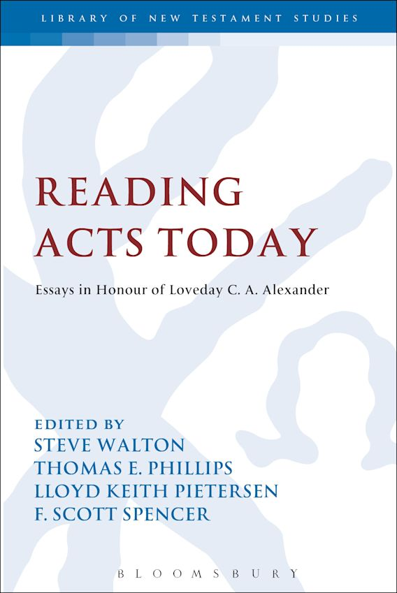 Reading Acts Today cover