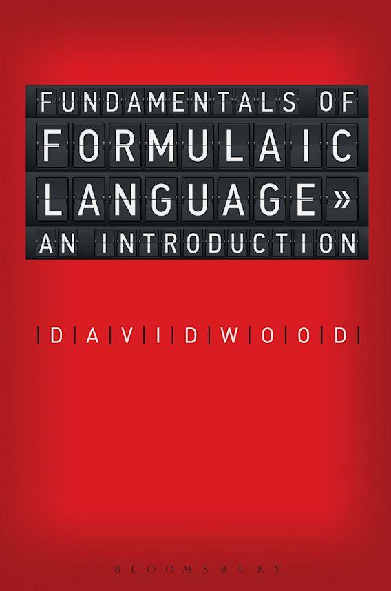 Fundamentals of Formulaic Language cover