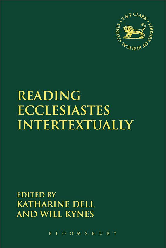 Reading Ecclesiastes Intertextually cover