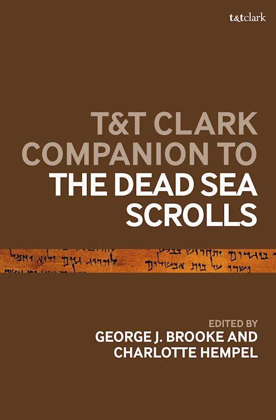 T&T Clark Companion to the Dead Sea Scrolls cover