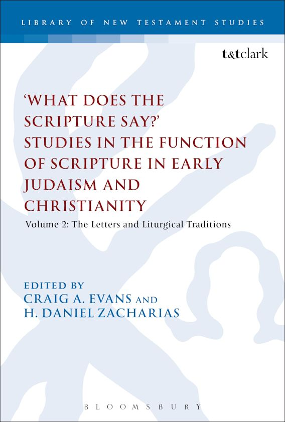 What Does the Scripture Say?' Studies in the Function of Scripture in Early Judaism and Christianity cover