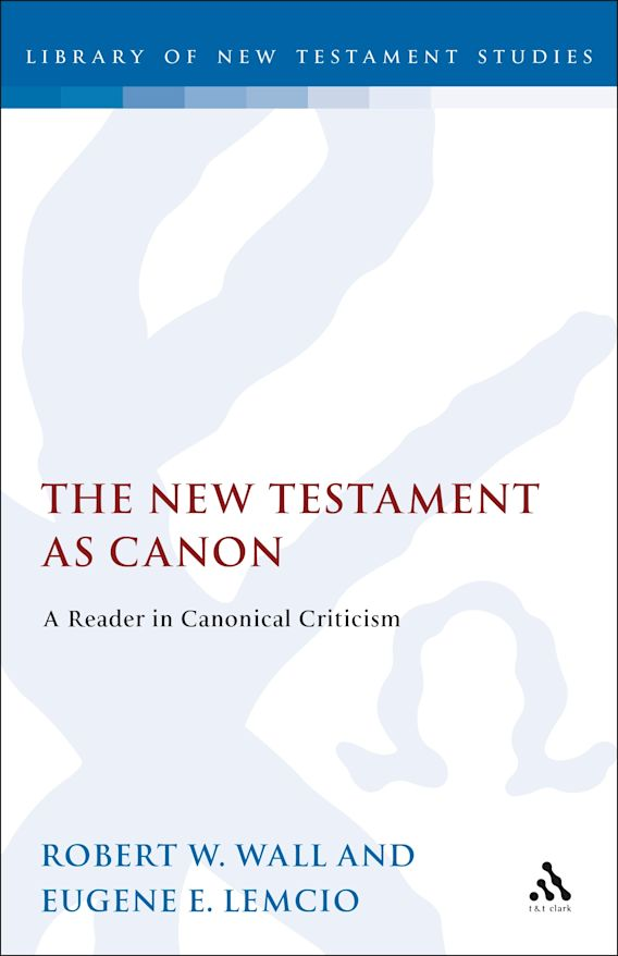 The New Testament as Canon cover