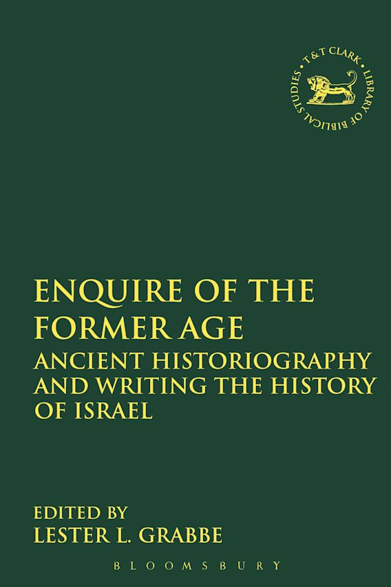 Enquire of the Former Age cover