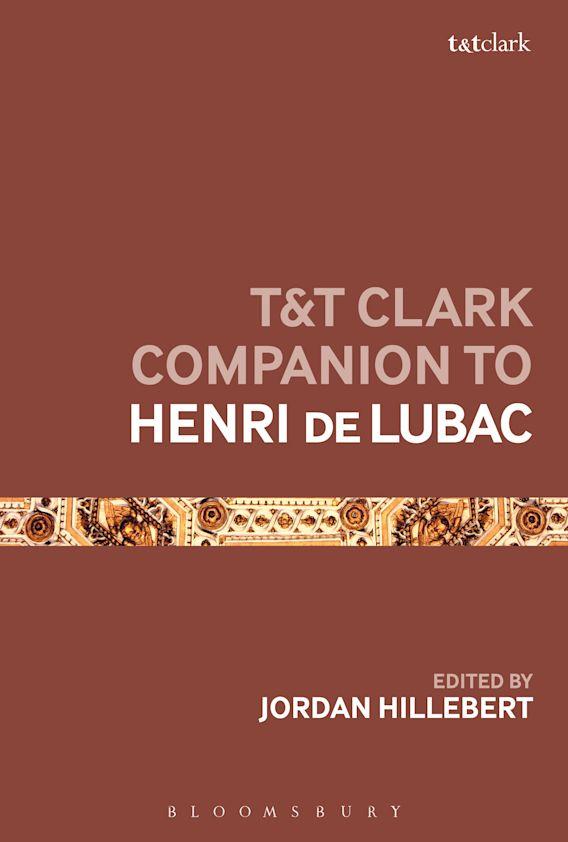 T&T Clark Companion to Henri de Lubac cover