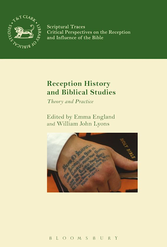 Reception History and Biblical Studies cover