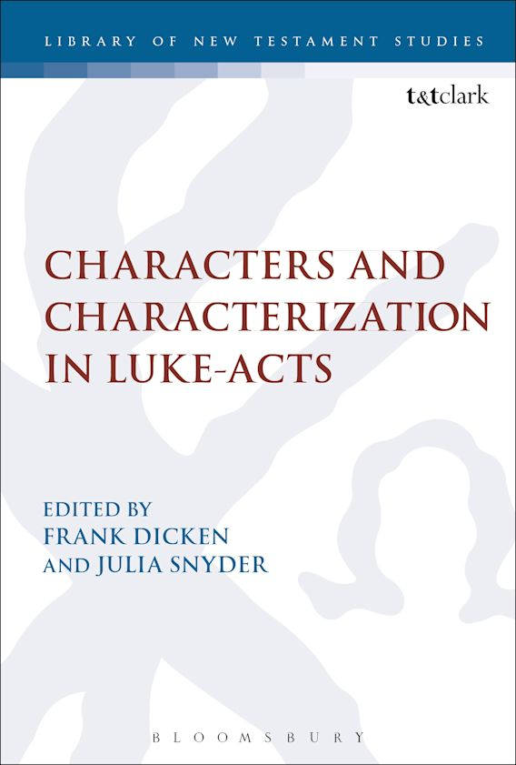 Characters and Characterization in Luke-Acts cover