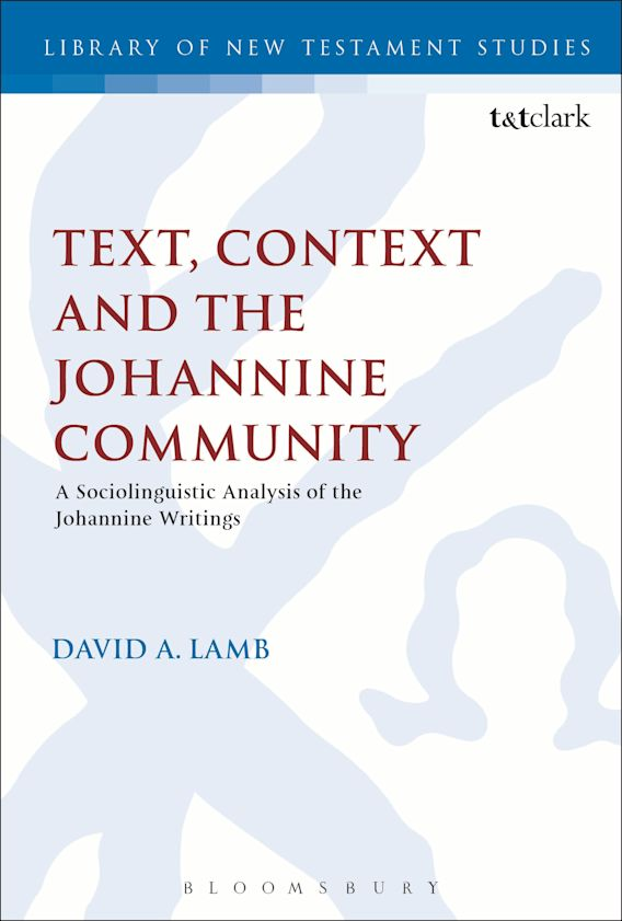 Text, Context and the Johannine Community cover