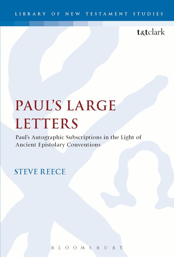 Paul's Large Letters cover