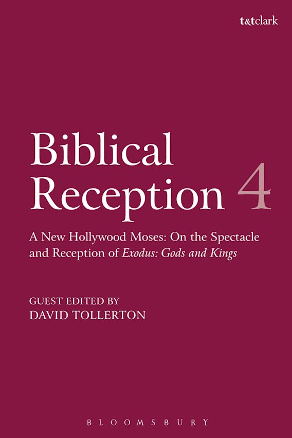 Biblical Reception, 4 cover