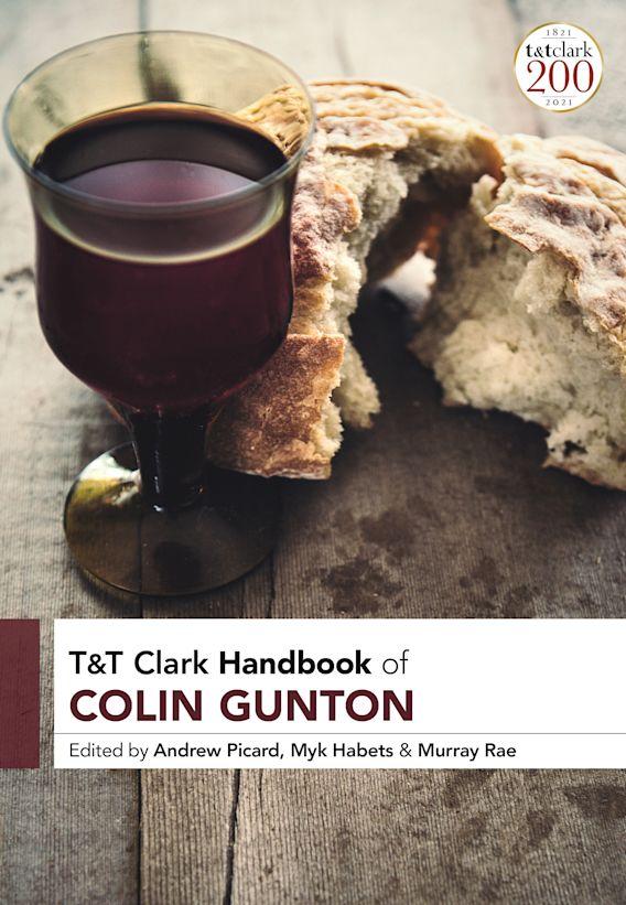 T&T Clark Handbook of Colin Gunton cover