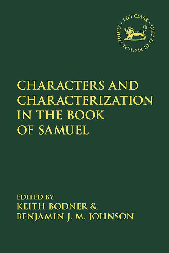Characters and Characterization in the Book of Samuel cover