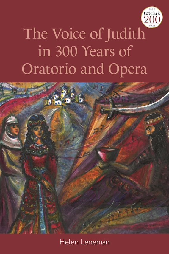 The Voice of Judith in 300 Years of Oratorio and Opera cover