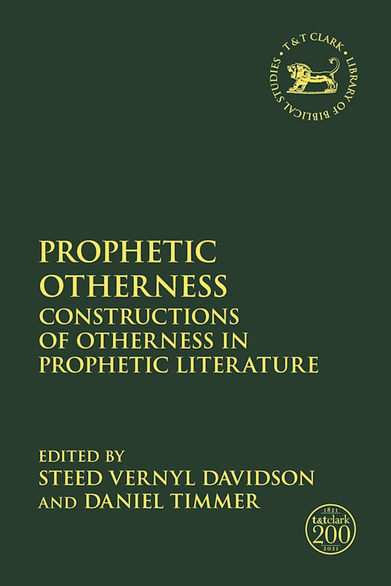 Prophetic Otherness cover