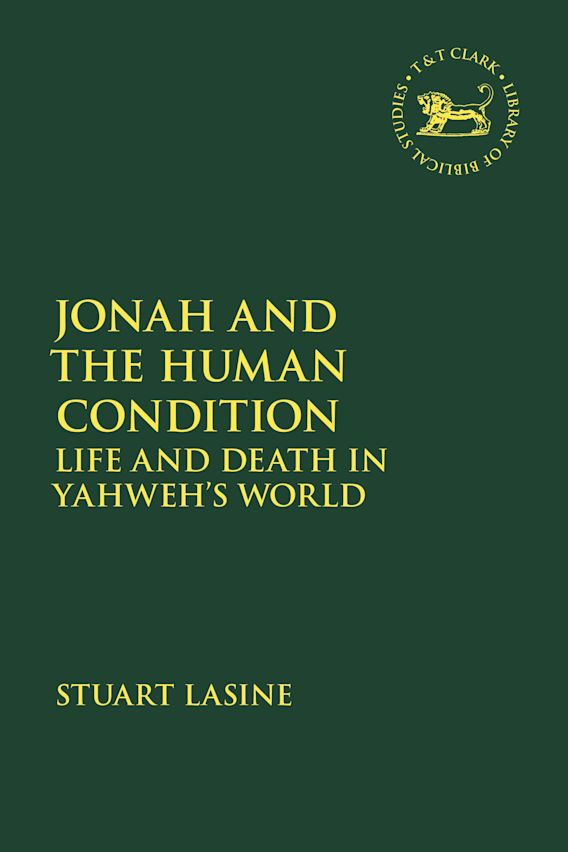 Jonah and the Human Condition cover