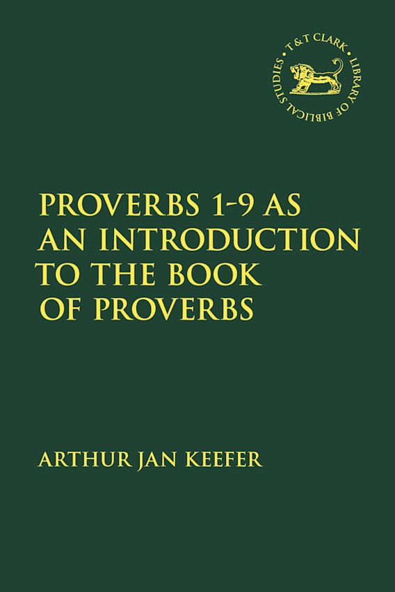 Proverbs 1-9 as an Introduction to the Book of Proverbs cover