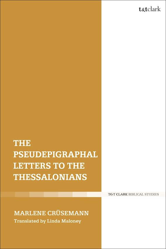 The Pseudepigraphal Letters to the Thessalonians cover
