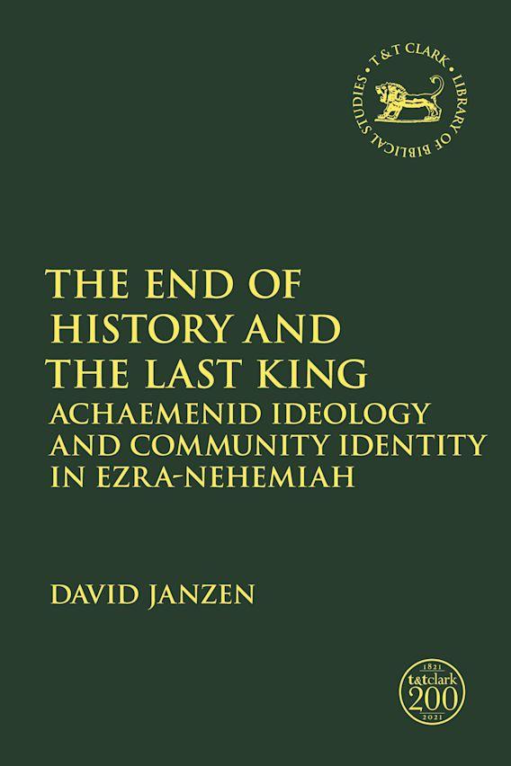 The End of History and the Last King cover