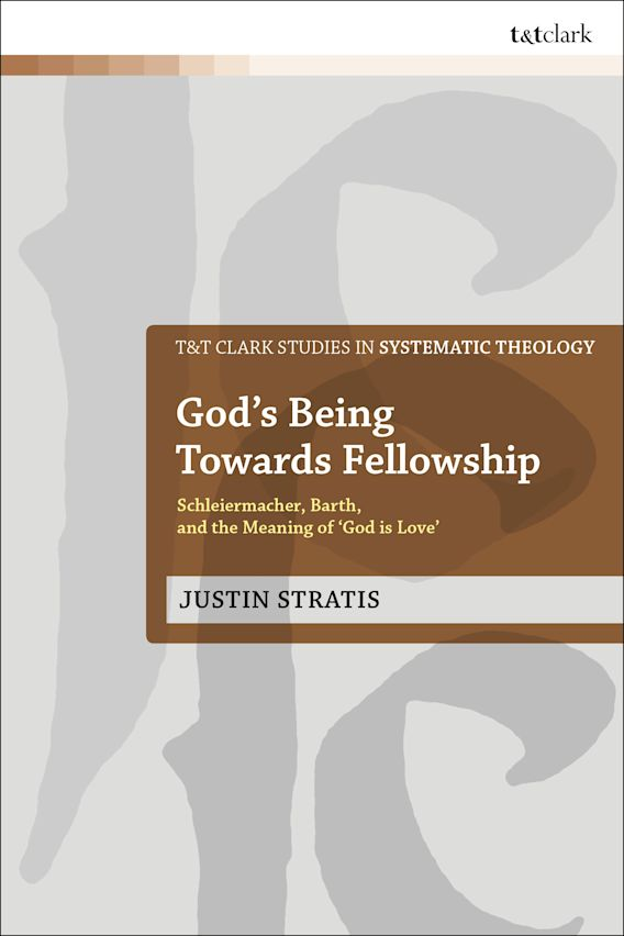 God's Being Towards Fellowship cover
