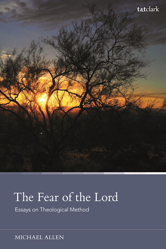 The Fear of the Lord: Essays on Theological Method cover