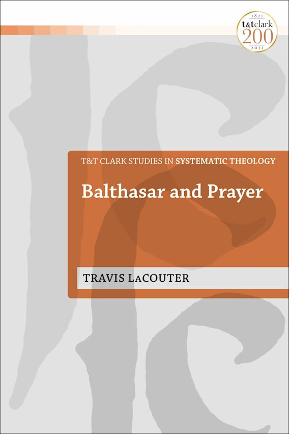 Balthasar and Prayer cover