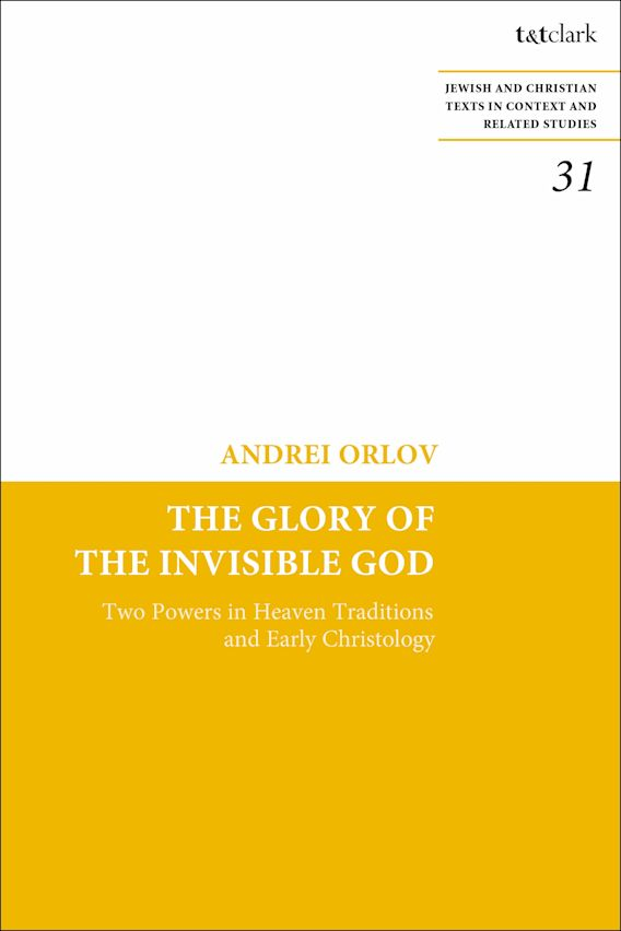 The Glory of the Invisible God cover