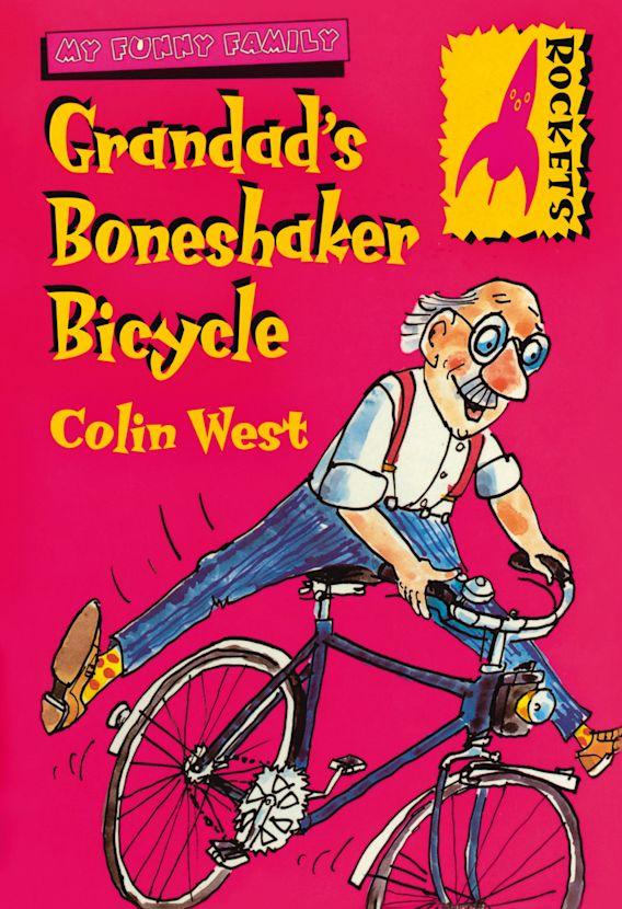 Grandad's Boneshaker Bicycle cover