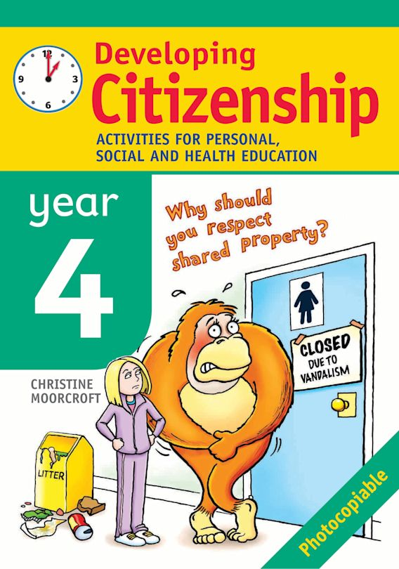 Developing Citizenship: Year 4 cover