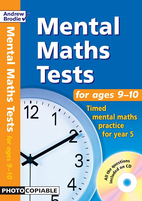Mental Maths Tests for ages 9-10 cover