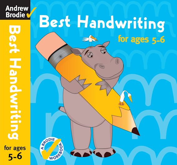 Best Handwriting for ages 5-6 cover