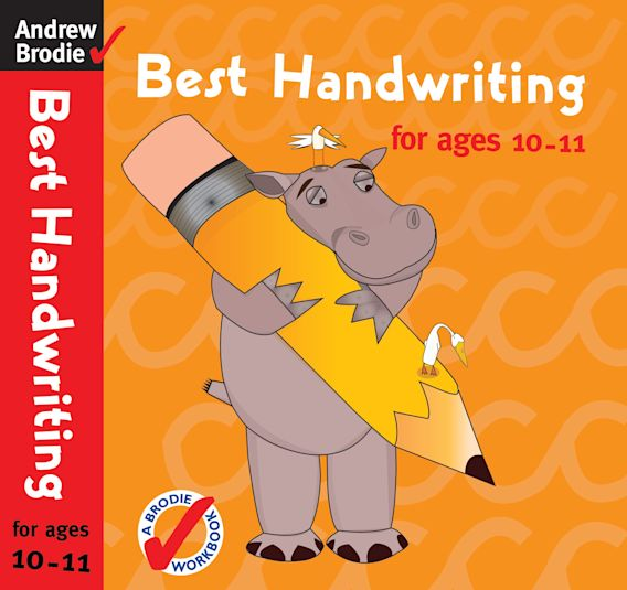 Best Handwriting for ages 10-11 cover