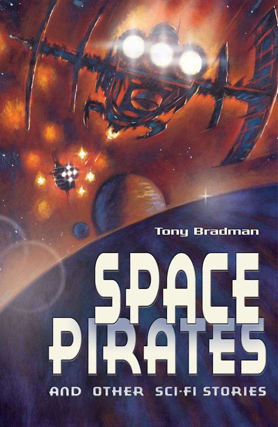Space Pirates and other sci-fi stories cover