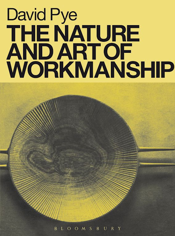 The Nature and Art of Workmanship cover