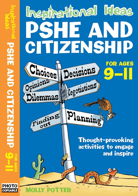 Inspirational Ideas: PSHE and Citizenship 9-11 cover