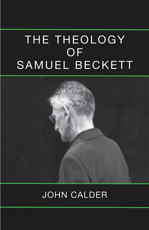 The Theology of Samuel Beckett cover