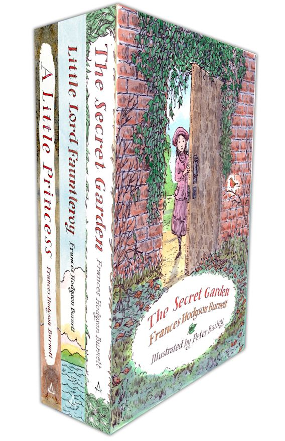 Illustrated Hodgson Burnett Classics Three-Book Pack cover