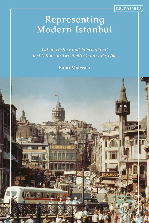 Representing Modern Istanbul cover