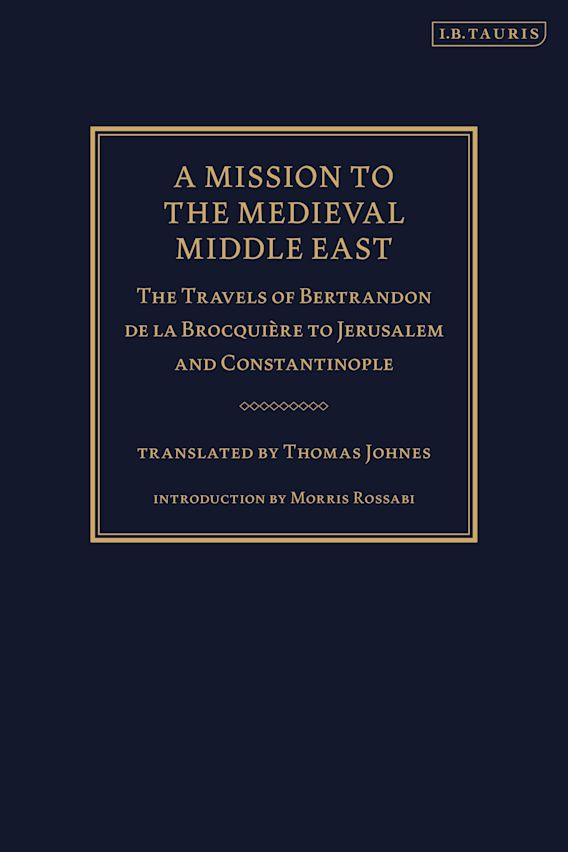 A Mission to the Medieval Middle East cover