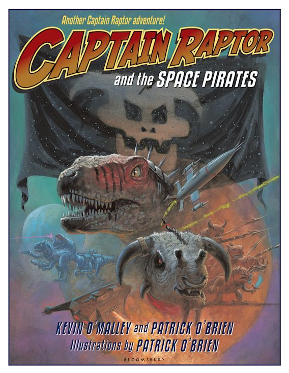 Captain Raptor and the Space Pirates cover