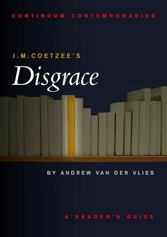 J.M. Coetzee's Disgrace cover