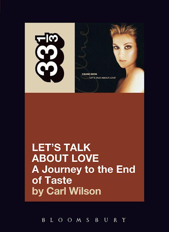 Celine Dion's Let's Talk About Love cover