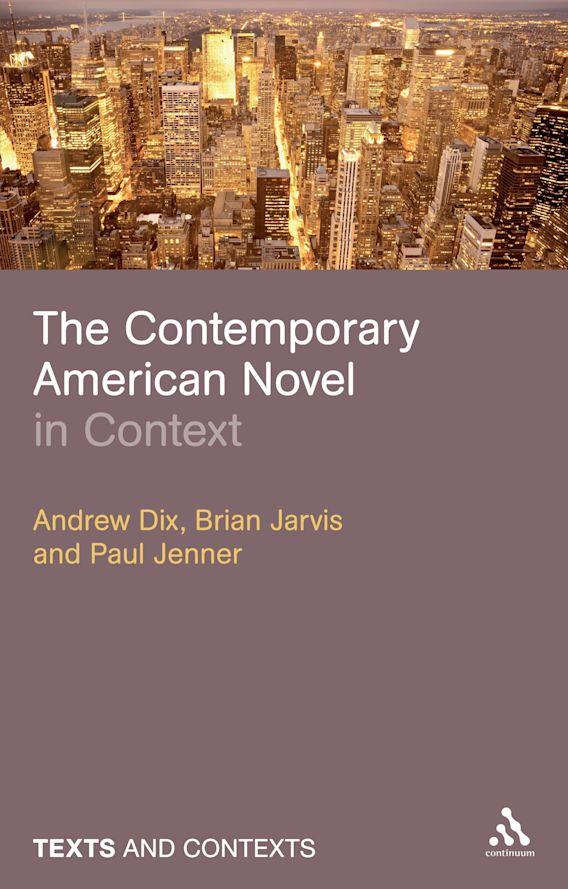 The Contemporary American Novel in Context cover