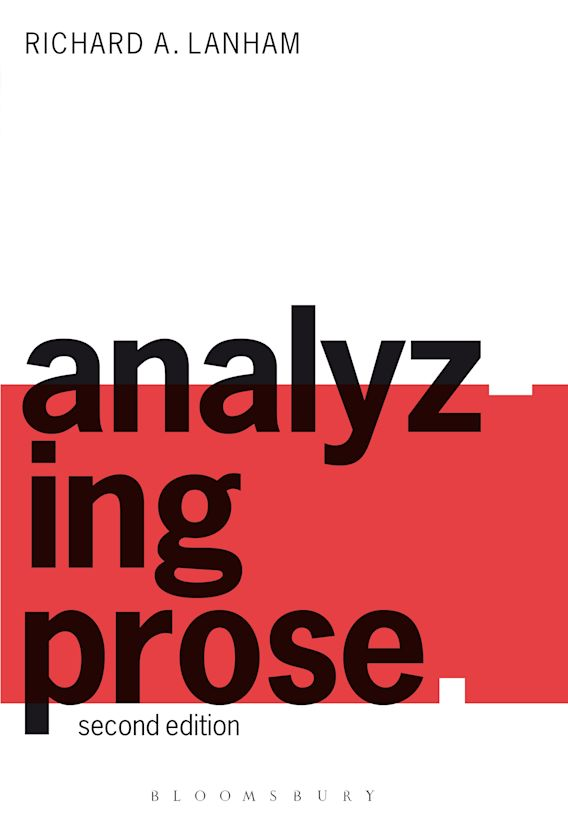 Analyzing Prose cover