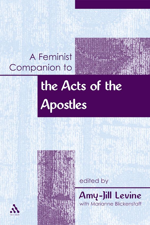 A Feminist Companion to the Acts of the Apostles cover