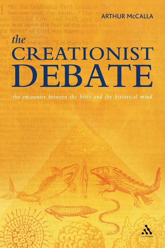 The Creationist Debate cover