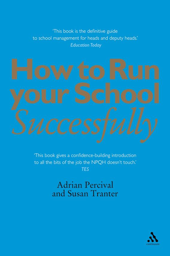 How to Run Your School Successfully cover