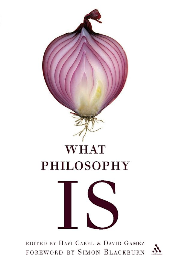 What Philosophy Is cover