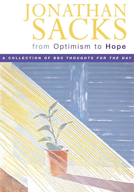 From Optimism to Hope cover